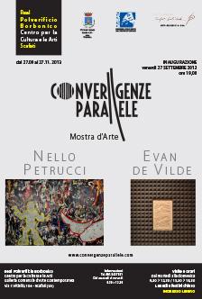 Evan de Vilde Nello Petrucci – Convergenze Parallele