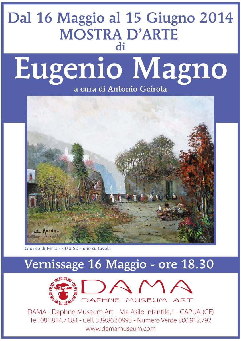 Proroga della mostra di Eugenio Magno fino al 15 giugno
