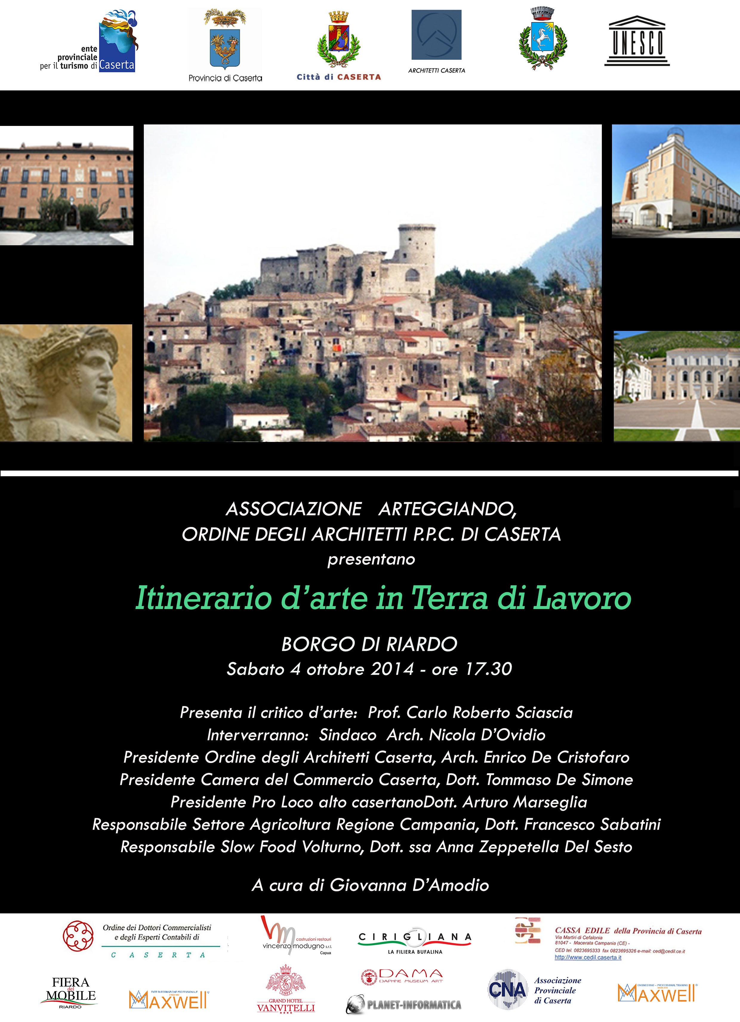 """Rassegna d'arte:""""Itinerario d'arte in Terra di Lavoro"""""""