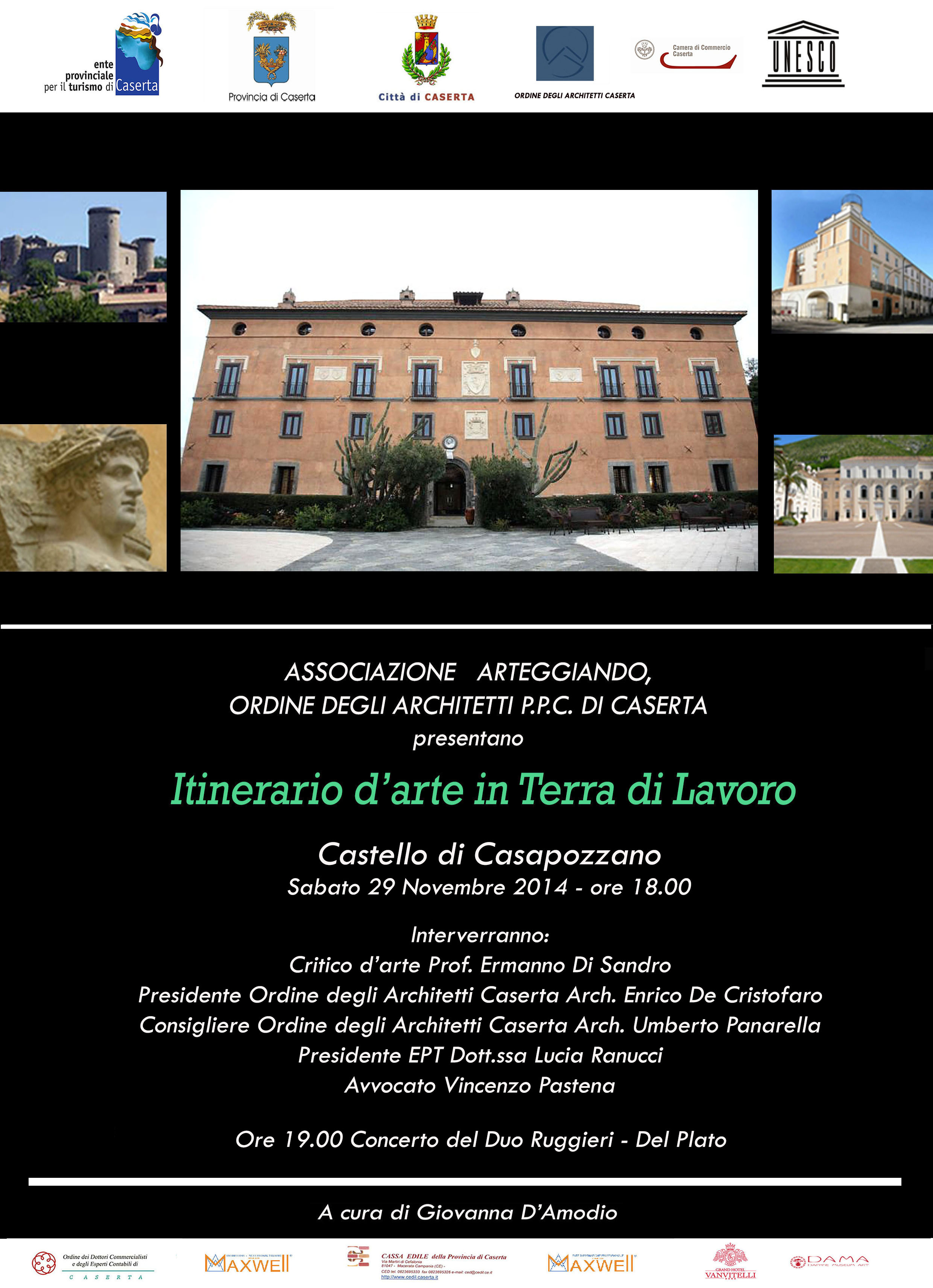 """Seconda tappa """"Itinerario d'arte in Terra di Lavoro"""""""