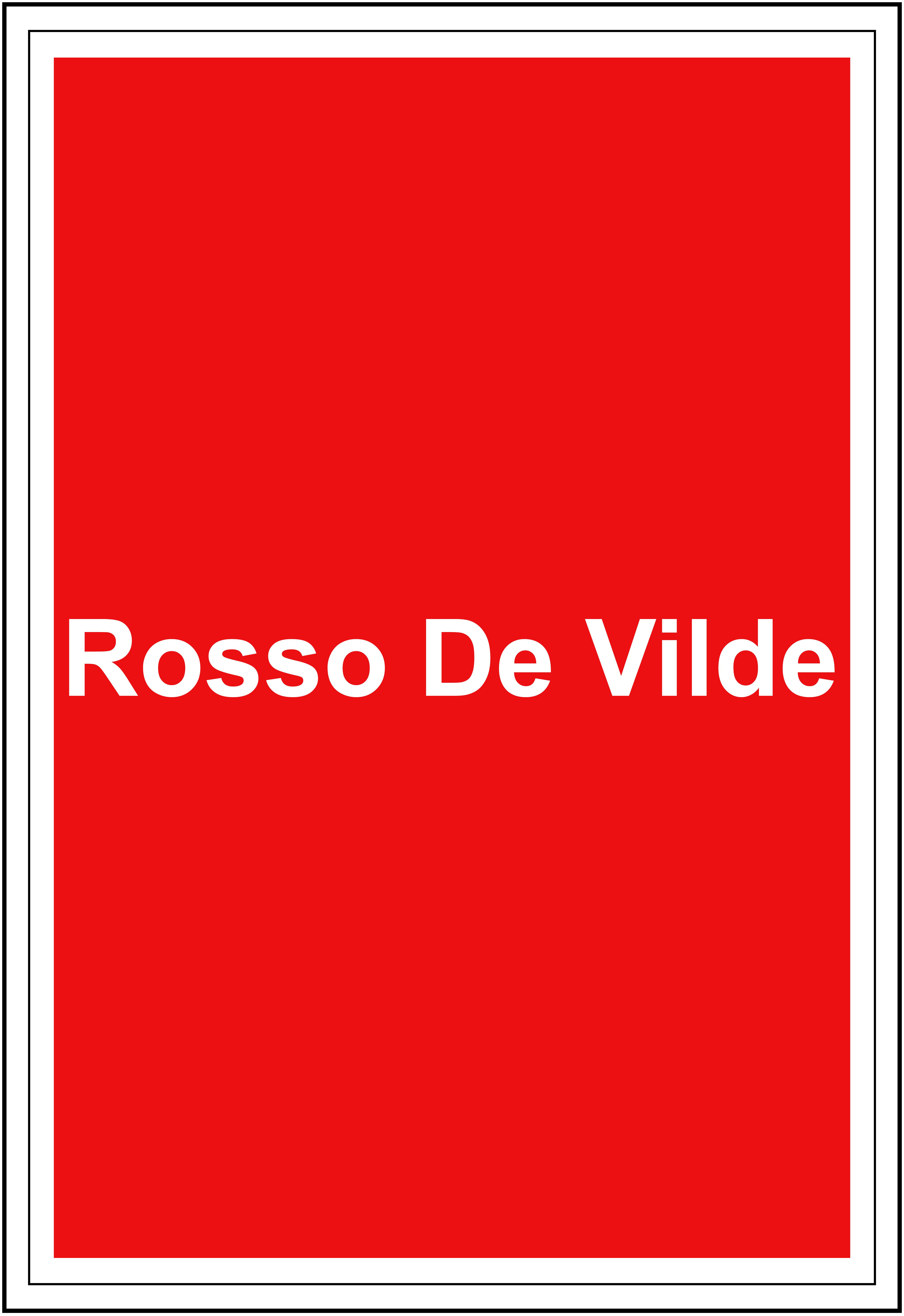 Rosso De Vilde