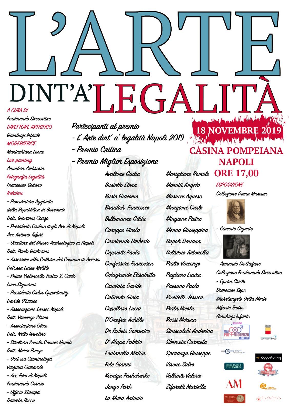 L'Arte dint' a' Legalità