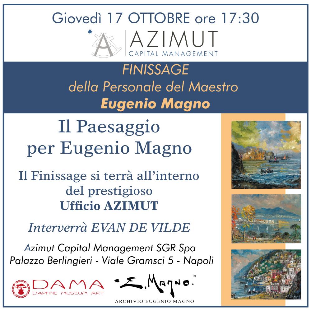 Il paesaggio per Eugenio Magno – finissage della mostra