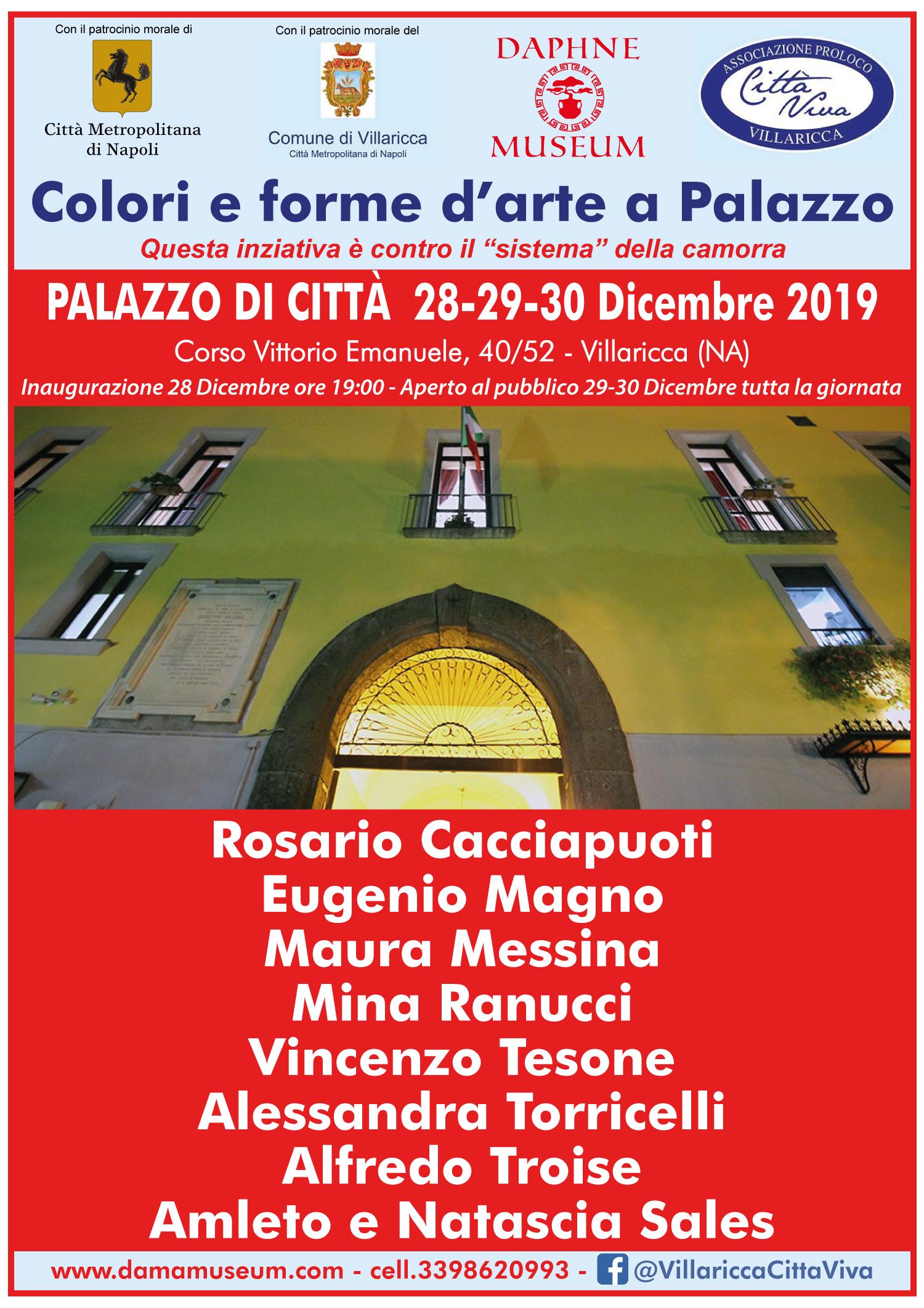 Colori e forme d'arte a Palazzo