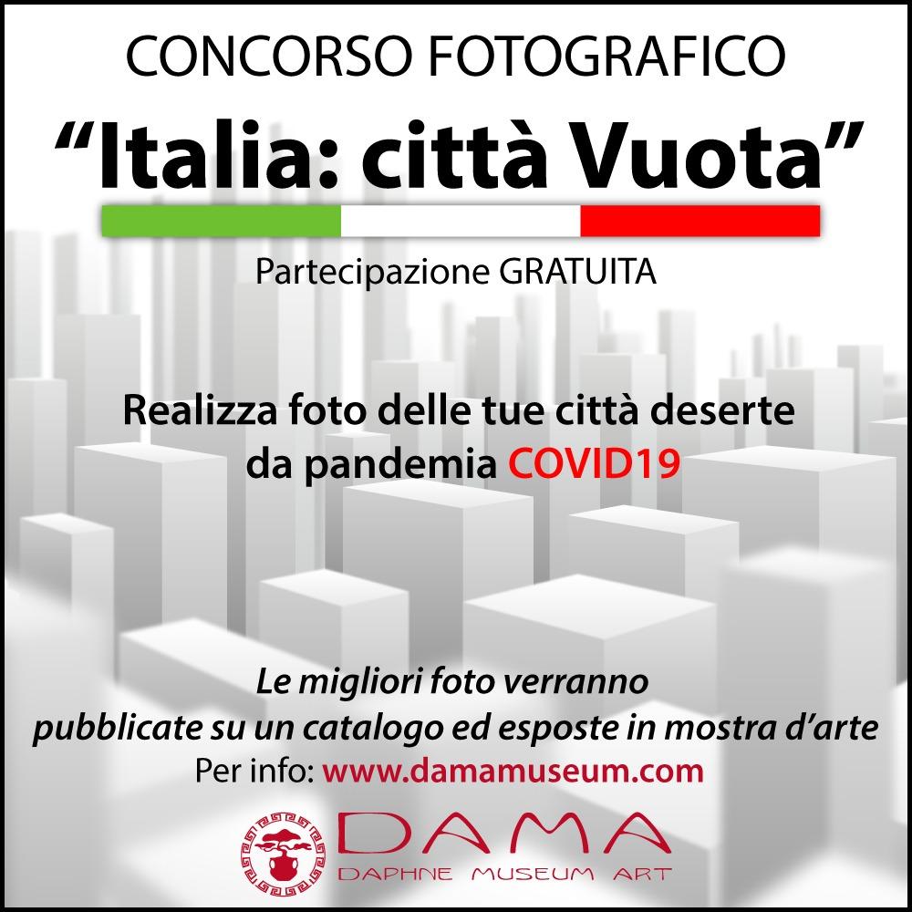 BANDO CONCORSO FOTOGRAFICO – ITALIA: CITTÀ VUOTA